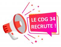 Le CDG 34 recrute